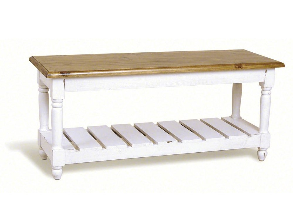 Narrow Shabby Chic Coffee Table