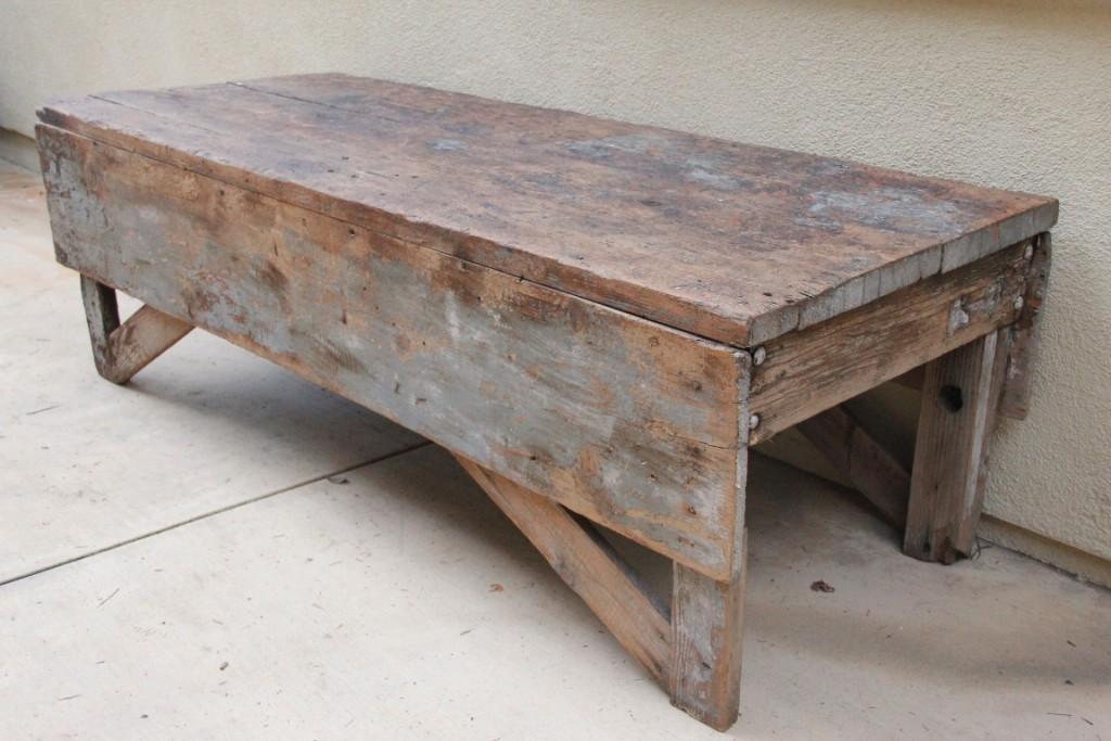 Folding Farmhouse Coffee Table