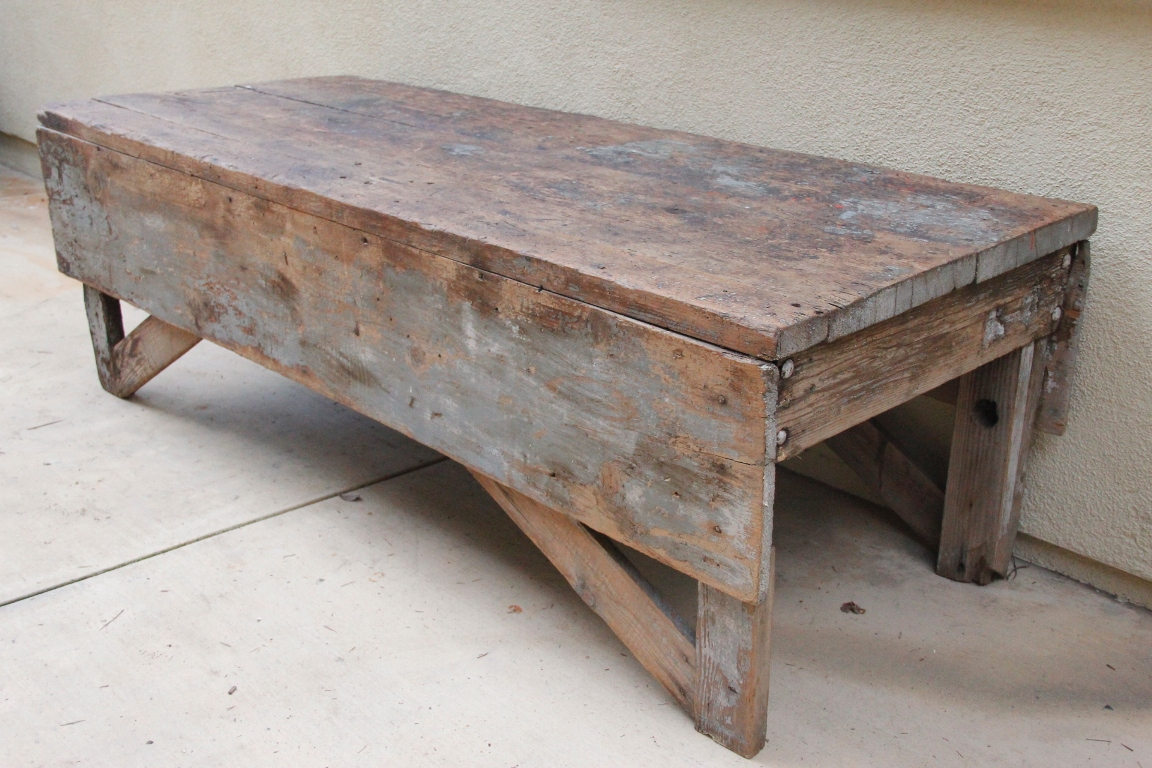 Folding Farmhouse Coffee Table