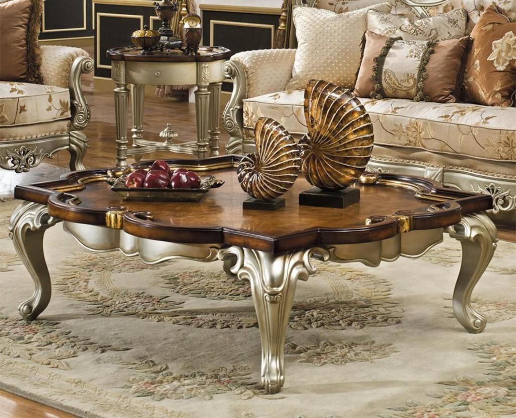 Vintage Luxury Coffee Table