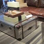 Trunk Coffee Table With Tray