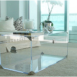 Acrylic Coffee Table Trunk