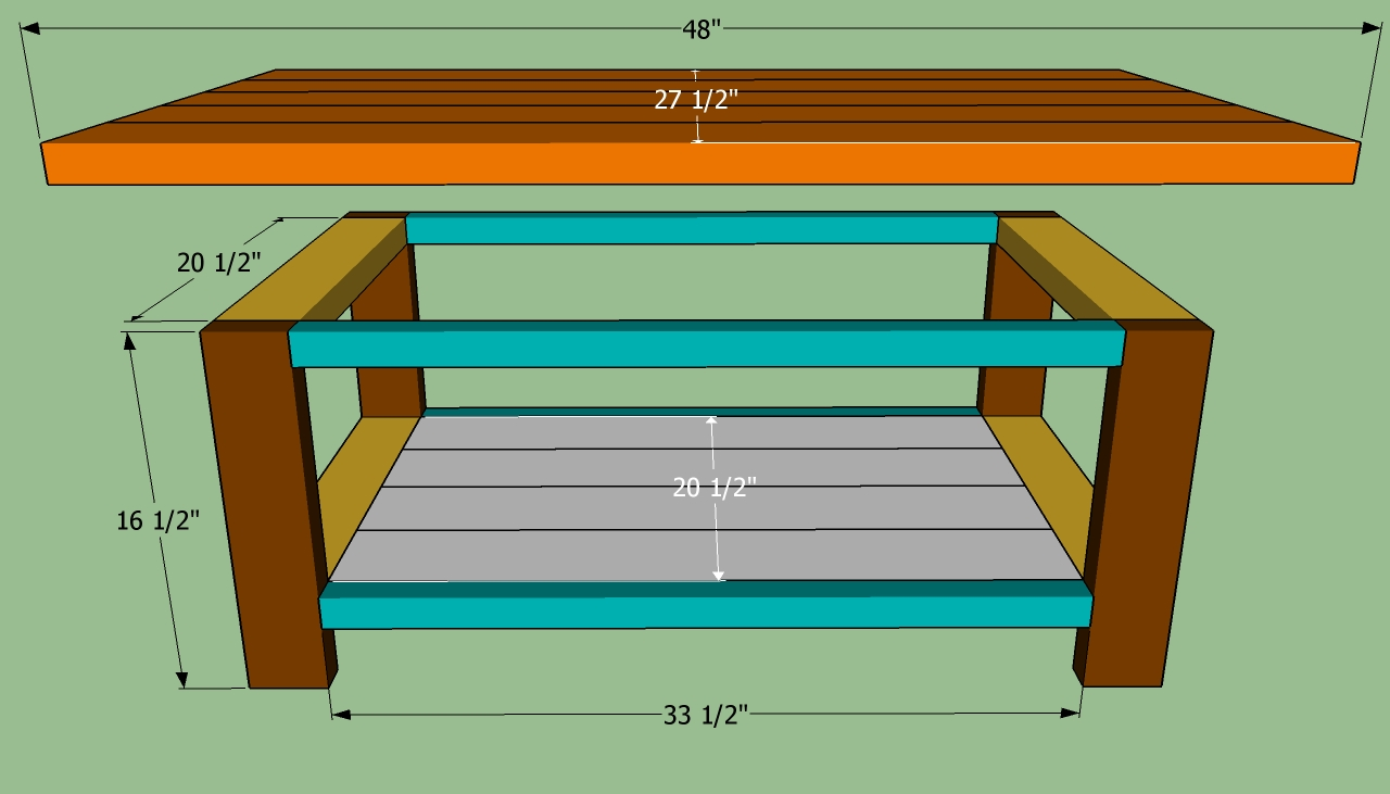 Basic Plan for Coffee Table