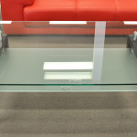 Caroline Glass Dania Coffee Table