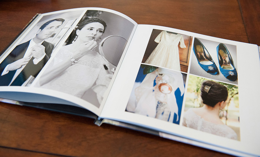 Coffee Table Wedding Book