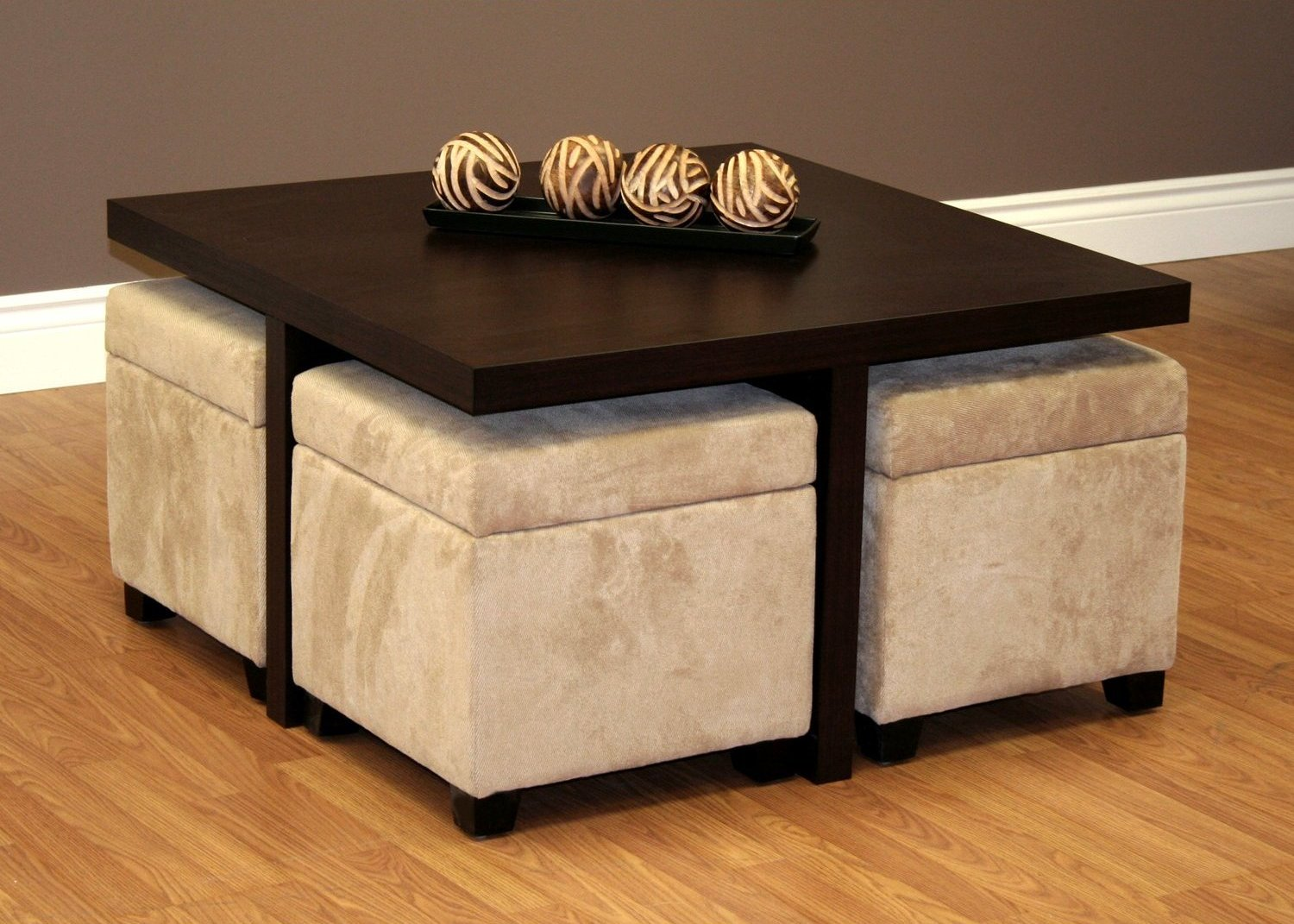 Coffee Table With Stools Underneath Coffee Tables