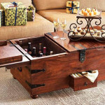 Coffee Table With Storage Bar