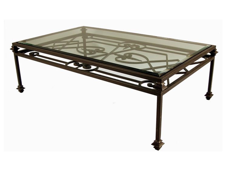 Iron Coffee Table Design Ideas