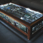 Computer Engine Coffee Table