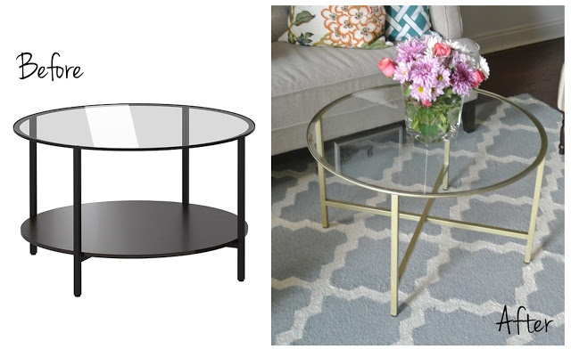 Design for Ikea Glass Coffee Table