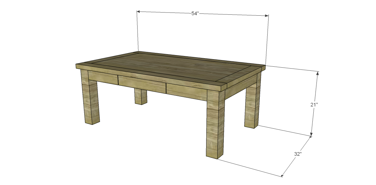 Coffee Table Plans.Easy Coffee Table Plan Coffee Tables