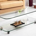 Elegant Ikea Glass Coffee Table