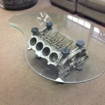 Engine Block Coffee Table