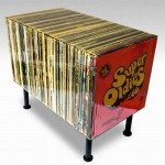 Funky Vinyl Records Coffee Table