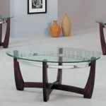 Glass Coffee Table Set