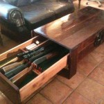Gun Storage Coffee Table