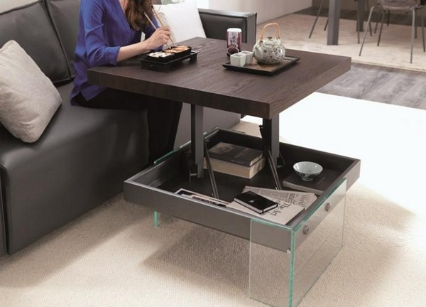 High Adjustable Coffee Table Height Coffee Tables
