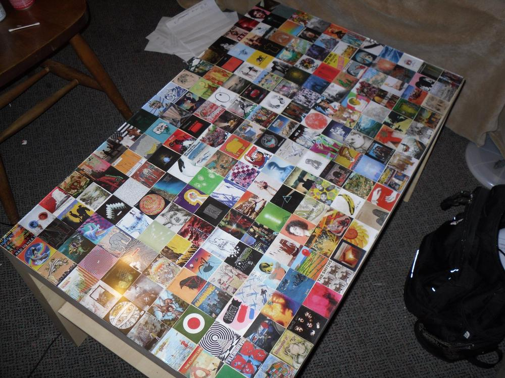 Interesting Coffee Table Cover