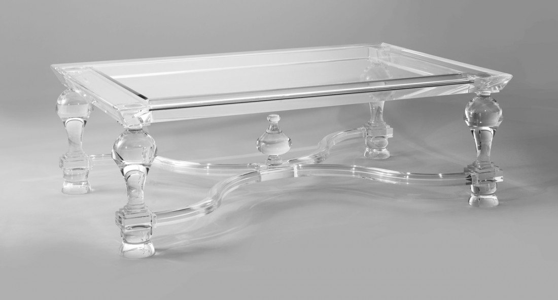 Massive Acrylic Coffee Table