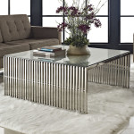 Metal Contemporary Coffee Table