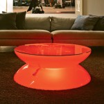 Multi-Color Led Coffee Table