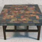 Natural Stone Slate Coffee Table