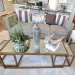 Nesting Ikea Glass Coffee Table in Brown