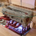 Oval Engine Coffee Table