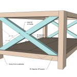 Plan for Coffee X-Table