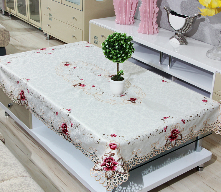 Polyester Tablecloth Coffee Table Cover