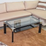 Rectangular Ikea Glass Coffee Table