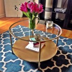 Round Ikea Glass Coffee Table