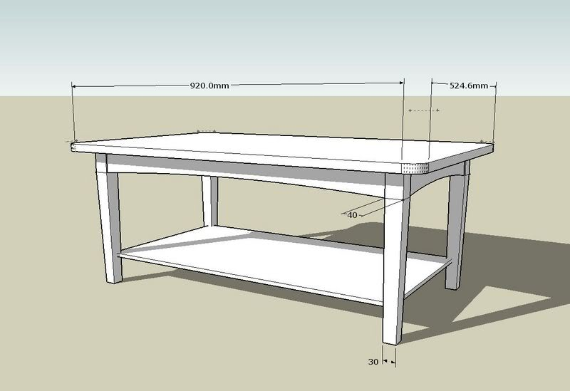 Coffee Table Plans.Simple Coffee Table Plan Coffee Tables