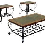 Slate Coffee Table Set