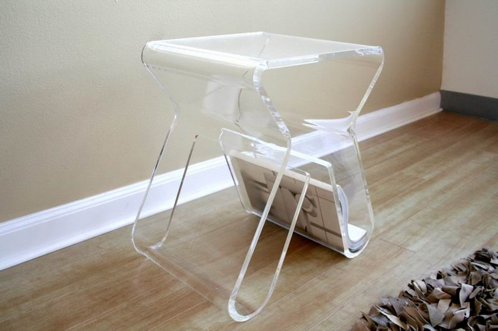 Small Acrylic Coffee Table