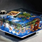Square Fish Tank Coffee Table