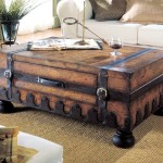 Trunk Coffee Table with Drawer