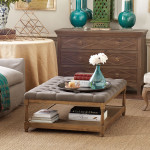 Wisteria Pintucked Coffee Table