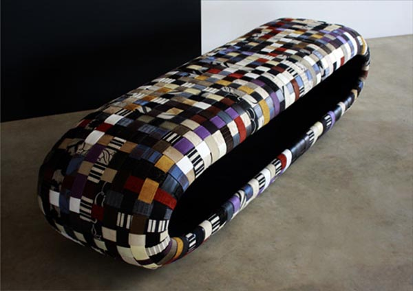 Woven Funky Coffee Table