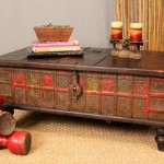 Antique Chest Coffee Table