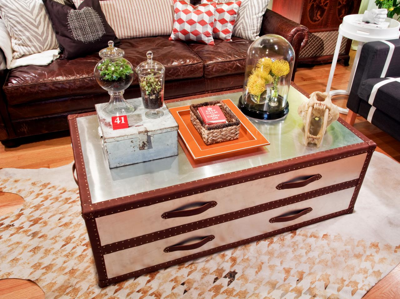 Chest Style Coffee Table Tables
