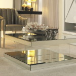 Double Mirrored Coffee Table