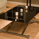 Folding Glass Coffee Table