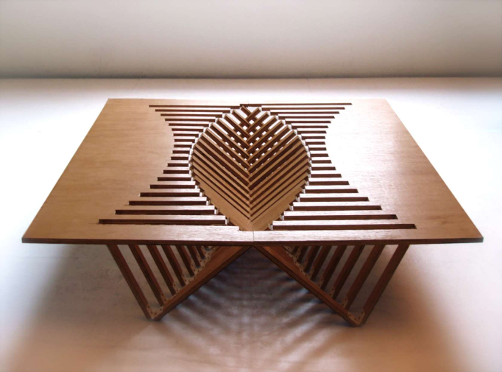 Functional Folding Coffee Table