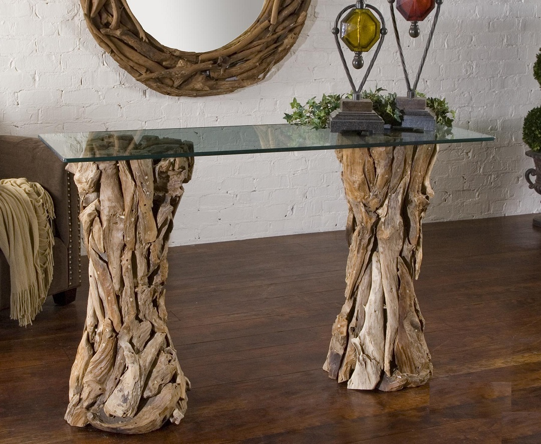 Idea for Driftwood Coffee Table