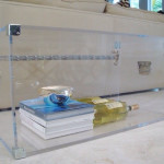 Lucite Trunk Coffee Table