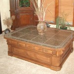 Massive Base Granite Coffee Table
