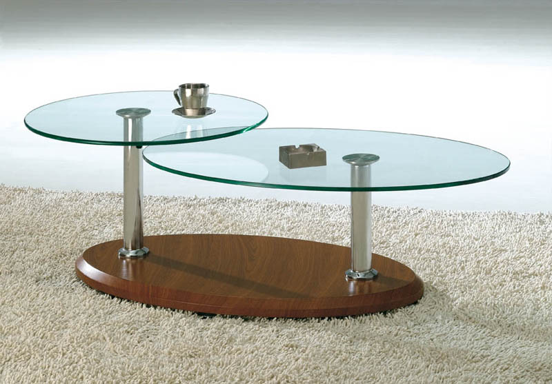 Modern Stylish Glass Coffee Table