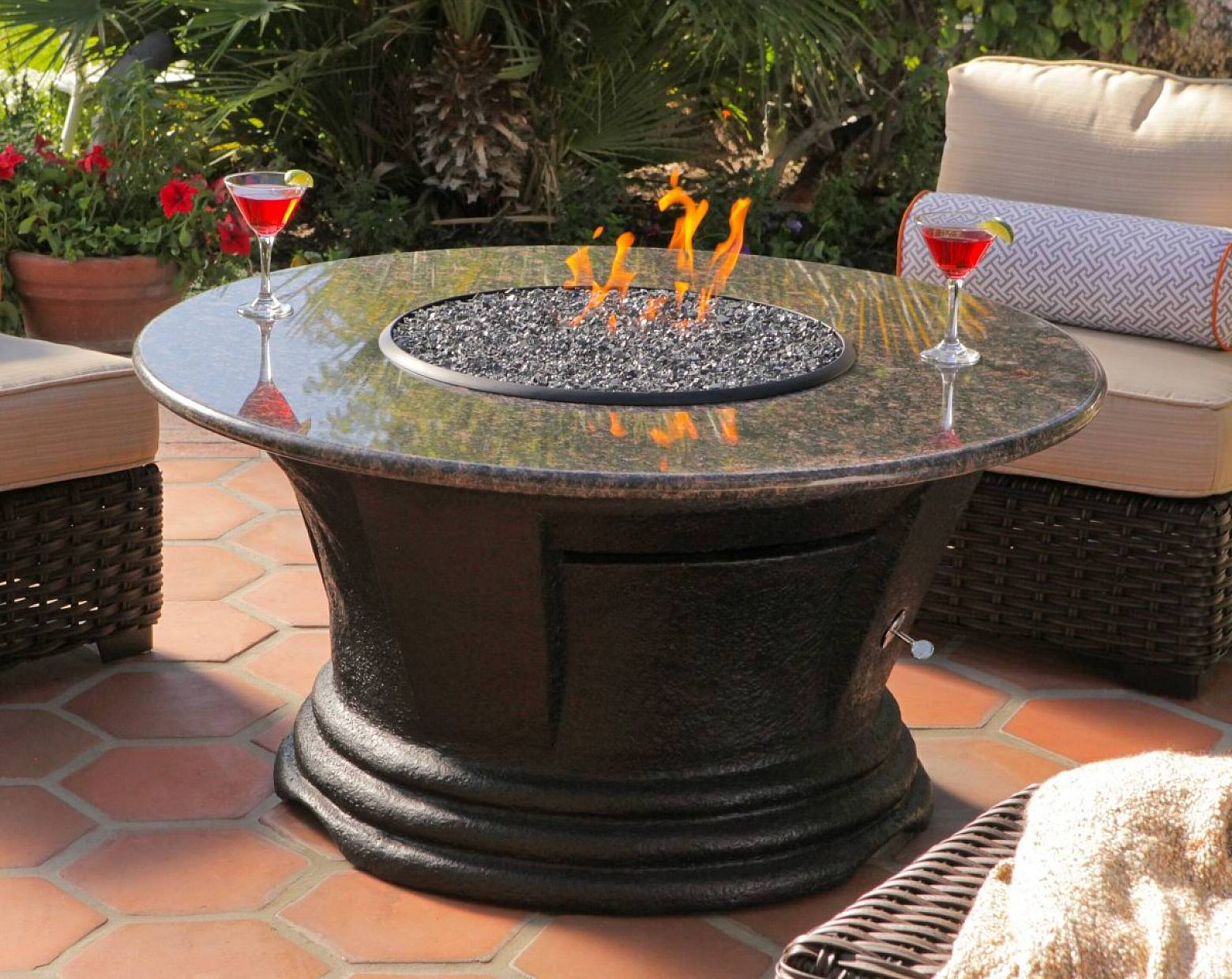 Outdoor Granite Coffee Table