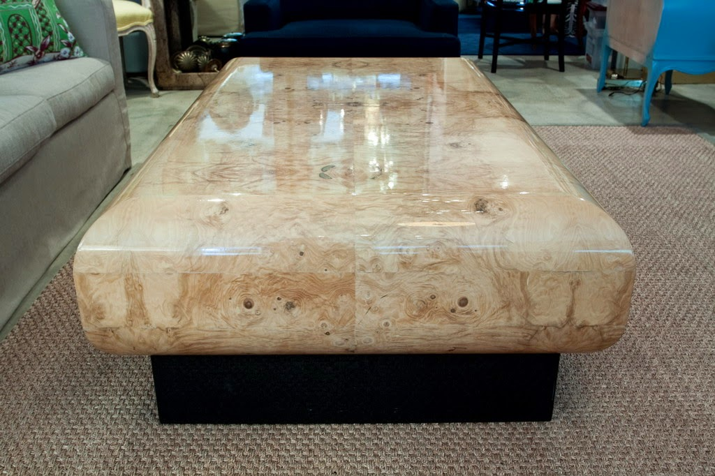 Polished Granite Coffee Table